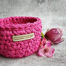 Košíky - Rose Carmine | malý košík pro báječnou ženu - 13401525_
