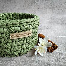 Košíky - Fresh Olive | malý košík pro báječnou ženu - 13401529_