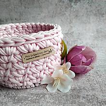Košíky - Sakura | malý košík pro báječnou ženu - 13401569_