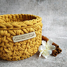 Košíky - Honey | malý košík pro báječnou ženu - 13401573_