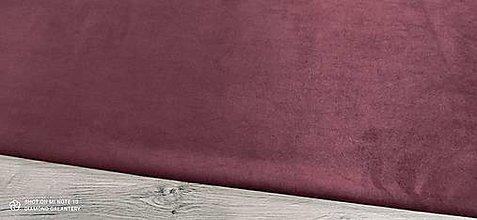 Textil - Semiš (Burgundy) - 13401080_