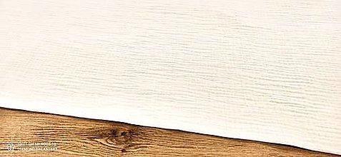 Textil - Dvojitá gazovina - Mušelin (Krémová II) - 13403572_