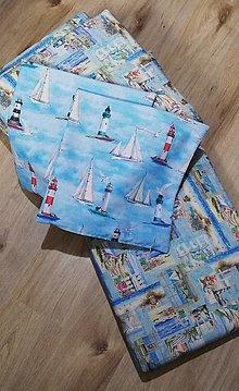 Úžitkový textil - Námornícke podsedáky na záhradné sedenie - 13403940_
