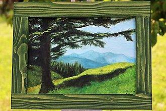 Obrazy - Strom a hory - 13400644_