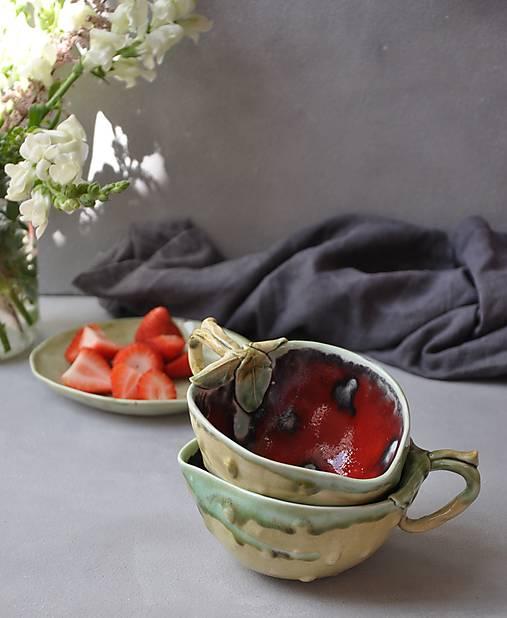 Šálka jahoda