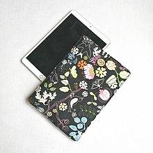 """Detské tašky - Puzdro noc v záhrade na 10,5"""" tablet,iPad - 13404499_"""