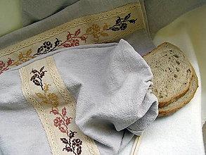 Úžitkový textil - kuchynský set vyšívaný 2 - 13405826_