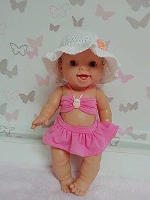 Hračky - Plavky pre bábiku Paola reina v. 36,Minikane v. 34 cm - 13406387_