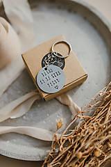 """Kľúčenky - Kľúčenka """"Dávaj si na seba pozor"""" - 13407172_"""