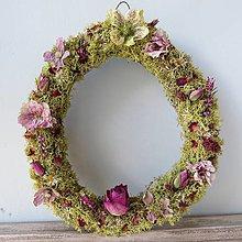 """Dekorácie - Kvetinový veniec """"Riana"""" - 13408079_"""
