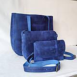 Kabelky - Freya Raw (modrá) - 13404951_