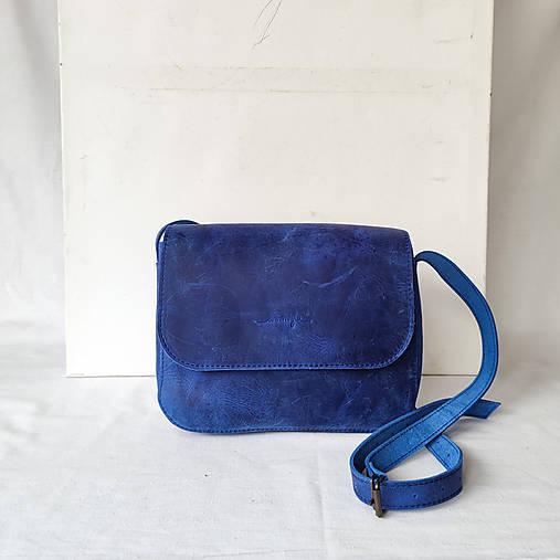 Kabelky - Rhea Raw (modrá) - 13404911_