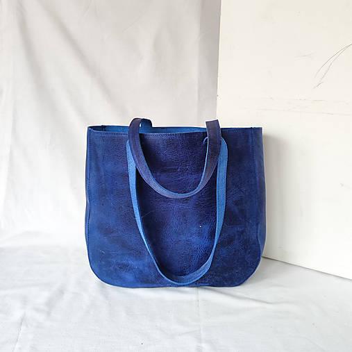 Kabelky - Freya Raw (modrá) - 13404948_