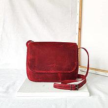 Kabelky - Rhea Raw (červená) - 13404904_