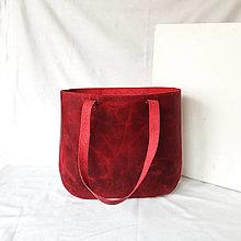 Kabelky - Freya Raw (červená) - 13404933_