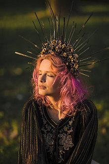 "Ozdoby do vlasov - Halo korunka ""hviezdy na nebi"" - 13405422_"