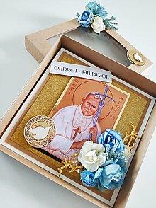 """Papiernictvo - Na birmovku """"Sv. Ján Pavol II., oroduj za nás."""" - 13407358_"""