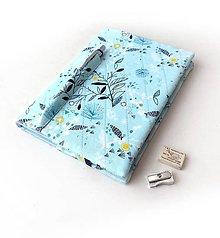 Papiernictvo - Zápisník Grafické kvietky - A5 - 13404680_