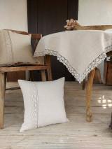 Úžitkový textil - Ľanový obrus Traditions - 13406983_