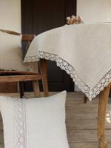 Úžitkový textil - Ľanový obrus Traditions - 13406984_