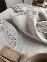 Úžitkový textil - Ľanový obrus Traditions - 13406991_