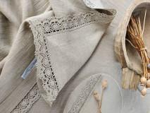 Úžitkový textil - Ľanový obrus Traditions - 13406992_