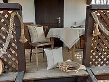 Úžitkový textil - Ľanový obrus Traditions - 13406995_