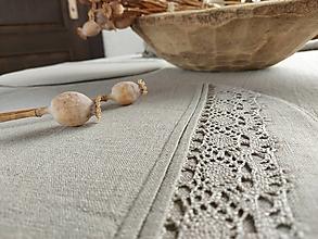 Úžitkový textil - Ľanové prestieranie Traditions - 13406857_