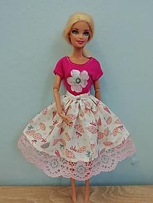 Hračky - Oblečenie pre bábiku Barbie - 13408321_