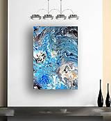 Obrazy - Tanec morských vĺn - 13410454_