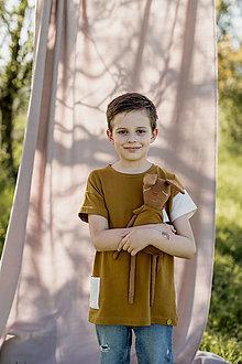 Detské oblečenie - Tričko TEO - 13411010_