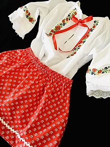 Tuniky - Blúzočka a suknička - 13408458_