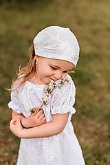 Detské čiapky - Šatka z mušelínu do horúčav - 13408526_