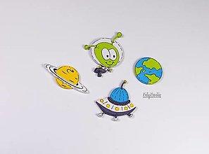 Detské doplnky - Ufo...sada - 13411952_