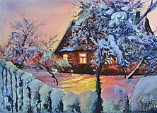 Obrazy - Warm at winter - 13413279_