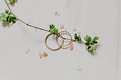 Prstene - Zlaté obrúčky - 13412225_