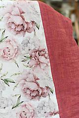 """Šatky - Veľký dvojitý dámsky kvetinový nákrčník """"Elizabeth"""" - 13412248_"""