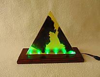 Svietidlá a sviečky - Lampa s meniacim sa svetlom - 13412075_