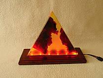 Svietidlá a sviečky - Lampa s meniacim sa svetlom - 13412076_