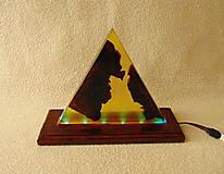 Svietidlá a sviečky - Lampa s meniacim sa svetlom - 13412077_