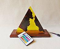 Svietidlá a sviečky - Lampa s meniacim sa svetlom - 13412083_