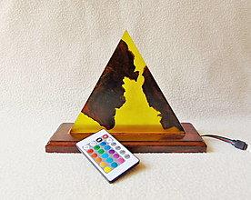 Svietidlá a sviečky - Lampa s meniacim sa svetlom - 13412082_