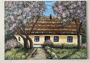 Obrazy - Chalúpka - 13413482_