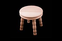 Nábytok - Stolička alebo stojan drevený - 13412169_