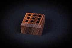 Pomôcky - Stojan na perá drevený - 13412316_