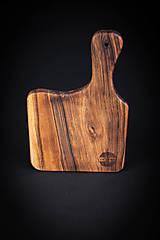 Pomôcky - Doska na krájanie drevená - 13412424_