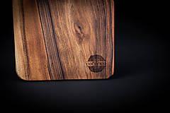 Pomôcky - Doska na krájanie drevená - 13412427_
