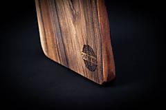 Pomôcky - Doska na krájanie drevená - 13412431_