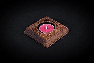 Pomôcky - Svietnik drevený - 13412372_