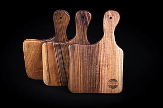 Pomôcky - Doska na krájanie drevená - 13412429_